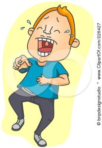 226427-Royalty-Free-RF-Clipart-Illustration-Of-A-Man-Laughing-And-Pointing
