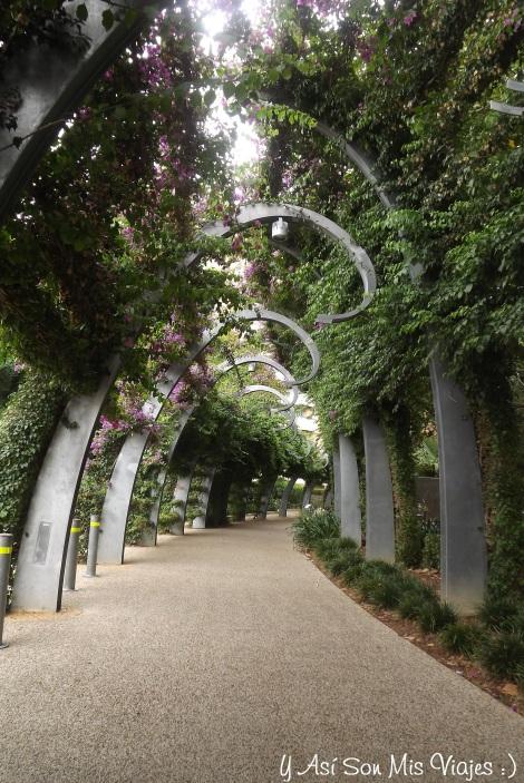 Un lindo lugar para caminar en Southbank